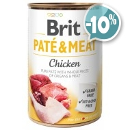 Brit Patе & Meat Chicken с курицей 400 гр
