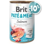 Brit Patе & Meat Salmon с лососем