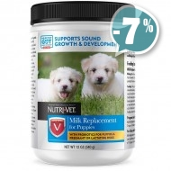 Nutri-Vet Milk Replacement for Puppies для щенков 340г