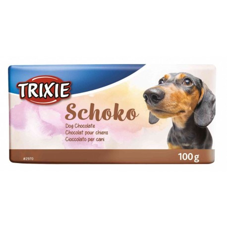 Trixie лакомство для собак Schoko Chocolate 100г