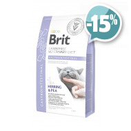 Brit Veterinary Diet Gastrointestinal для кошек с сельдью и горохом