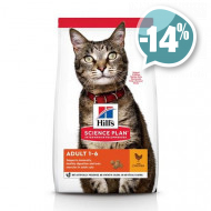 Hills Feline Adult Optimal Care Chicken для кошек