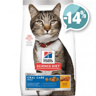 Hills Feline Adult Oral Care Chicken для кошек
