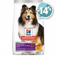 Hills Canine Adult Sensitive Stomach & Skin c Курицей