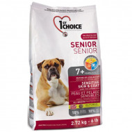 1st Choice Senior 7+ Sensitive Skin & Coat для собак