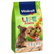 Vitakraft Life Power Banana для кроликов 600г