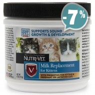 Nutri-Vet Milk Replacement for Kittens для котят 170г