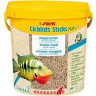 Sera Cichlids Sticks корм для цихлид 10 л